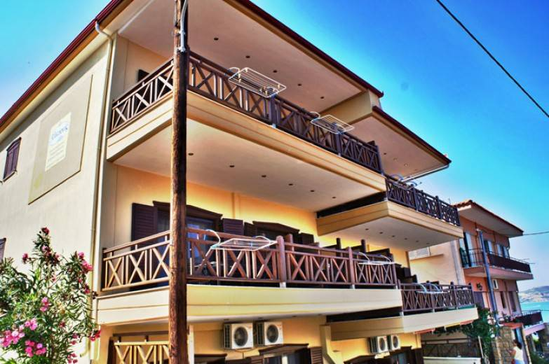 ammouliani Alkyonis apartments